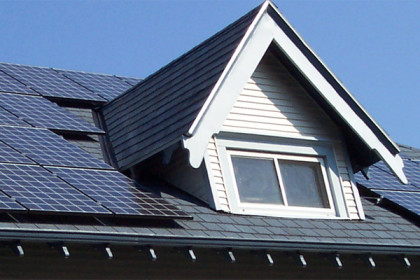 Solar panels installed on home in Virginia