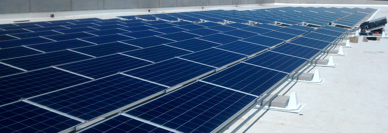 We provide turn-key commercial solar installations