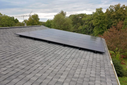 We install solar & roof systems
